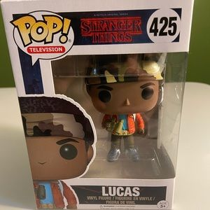 Stranger Things, Lucas POP figurine.